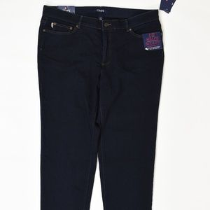 Chaps Plus 20W Blue   Straight Cotton solid